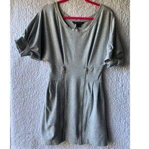 Grey zipper dress FCUK